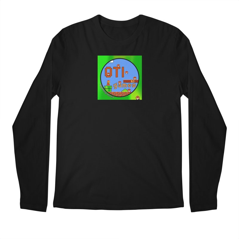 OTI Games #1 Men's Regular Longsleeve T-Shirt by OTInetwork