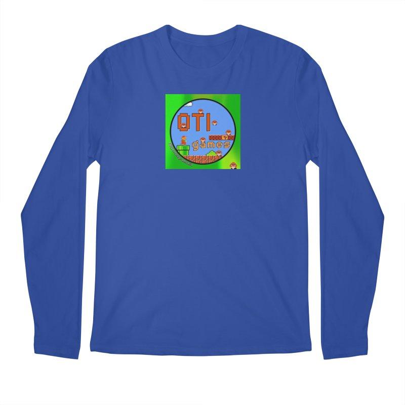 OTI Games #1 Men's Regular Longsleeve T-Shirt by OTInetwork