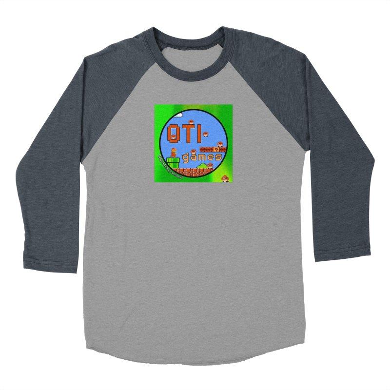 OTI Games #1 Women's Baseball Triblend Longsleeve T-Shirt by OTInetwork