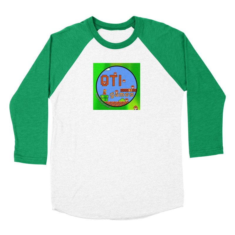 OTI Games #1 Men's Baseball Triblend Longsleeve T-Shirt by OTInetwork