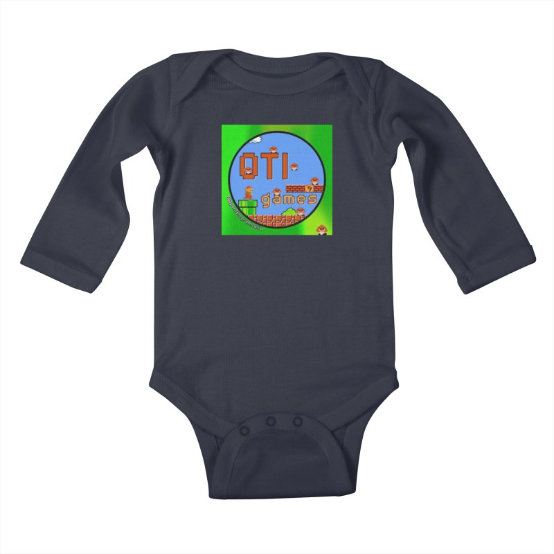 OTI Games #1 Kids Baby Longsleeve Bodysuit by OTInetwork