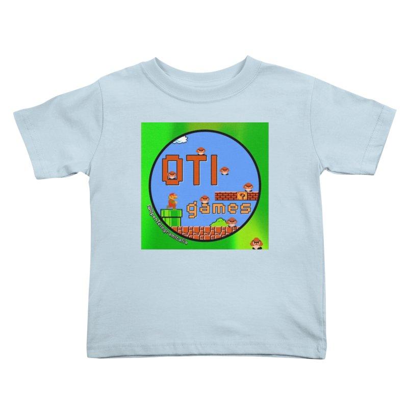 OTI Games #1 Kids Toddler T-Shirt by OTInetwork