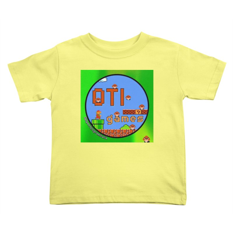 OTI Games #1 Kids Toddler T-Shirt by OTInetwork