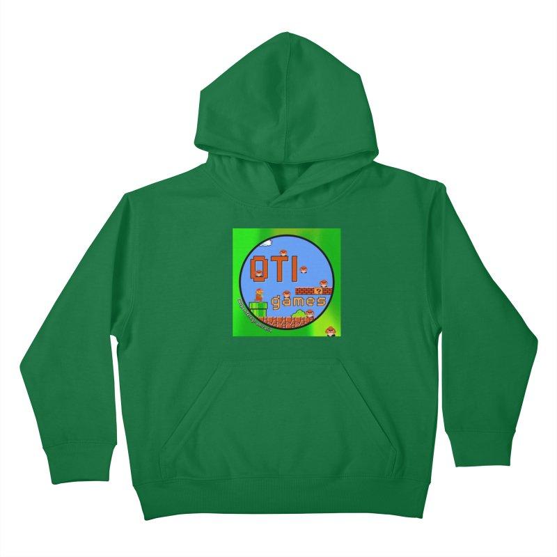 OTI Games #1 Kids Pullover Hoody by OTInetwork