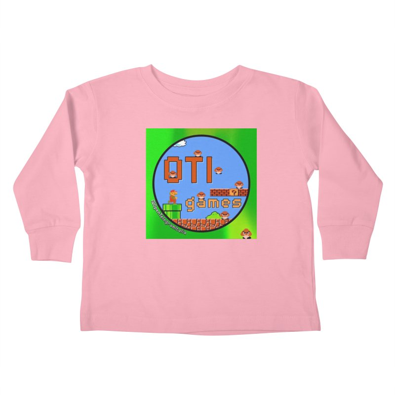 OTI Games #1 Kids Toddler Longsleeve T-Shirt by OTInetwork