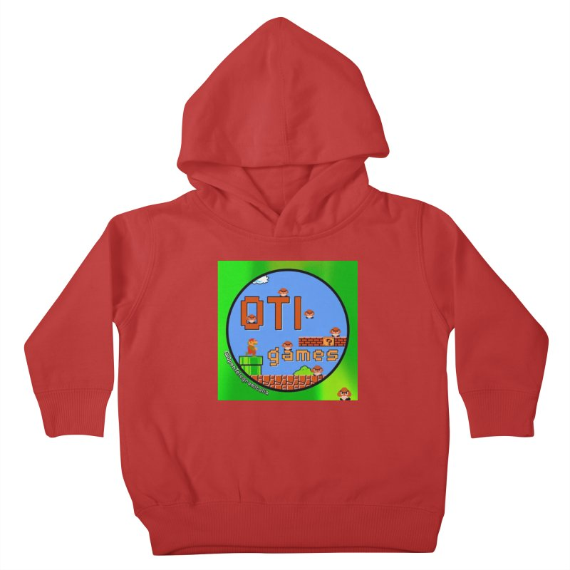 OTI Games #1 Kids Toddler Pullover Hoody by OTInetwork