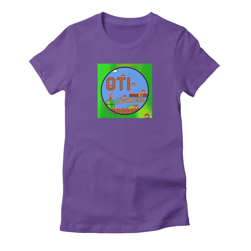 OTI Games #1 Women's Fitted T-Shirt by OTInetwork