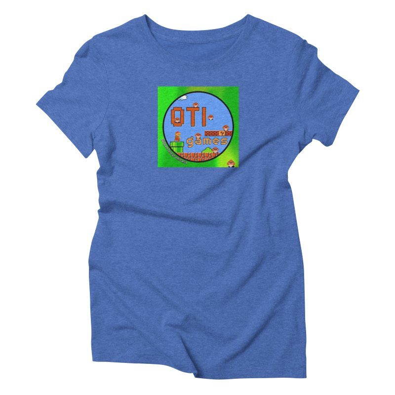 OTI Games #1 Women's Triblend T-Shirt by OTInetwork