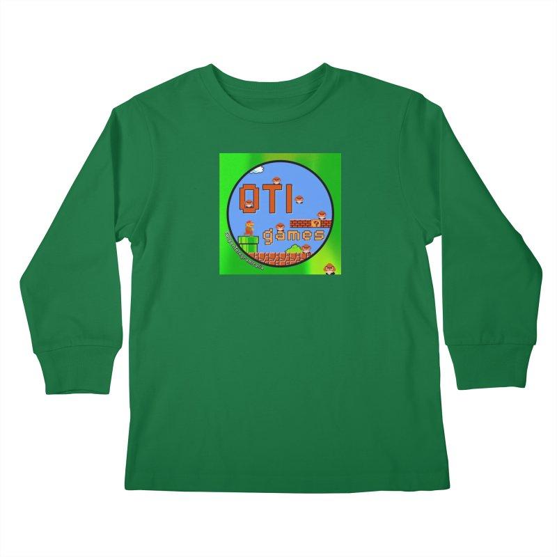 OTI Games #1 Kids Longsleeve T-Shirt by OTInetwork