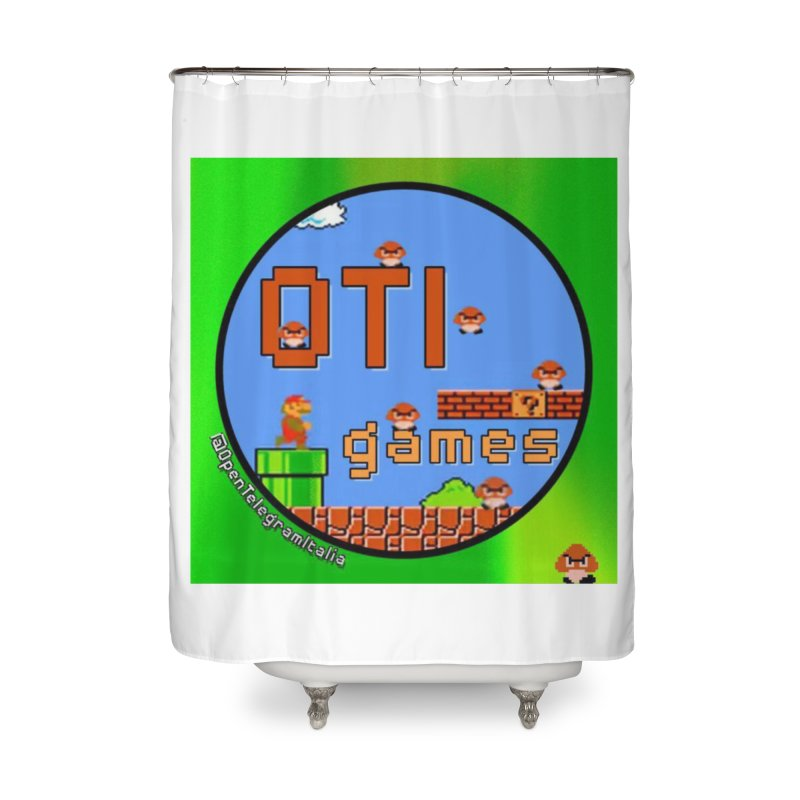 OTI Games #1 Home Shower Curtain by OTInetwork