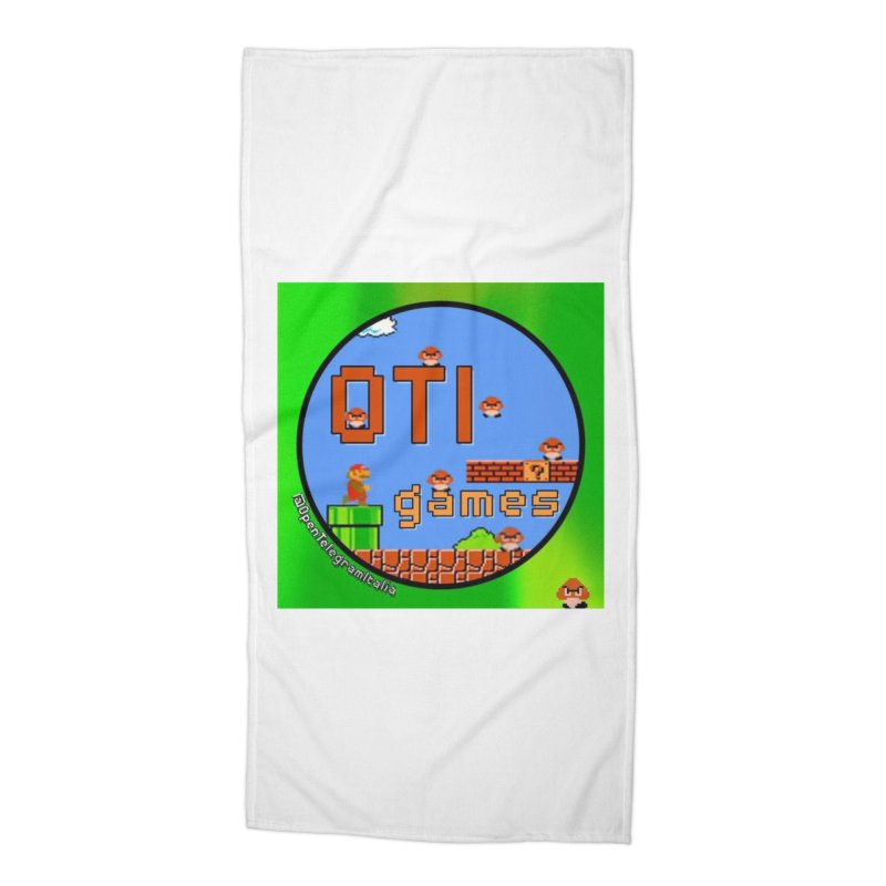 OTI Games #1 Accessories Beach Towel by OTInetwork