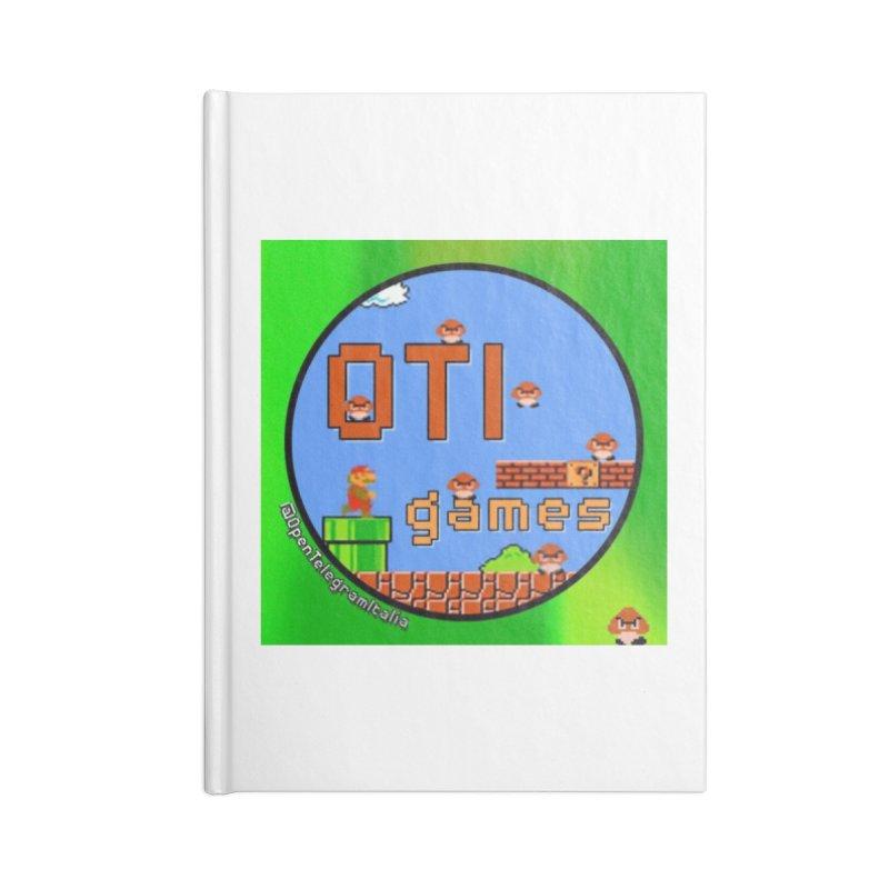 OTI Games #1 Accessories Blank Journal Notebook by OTInetwork