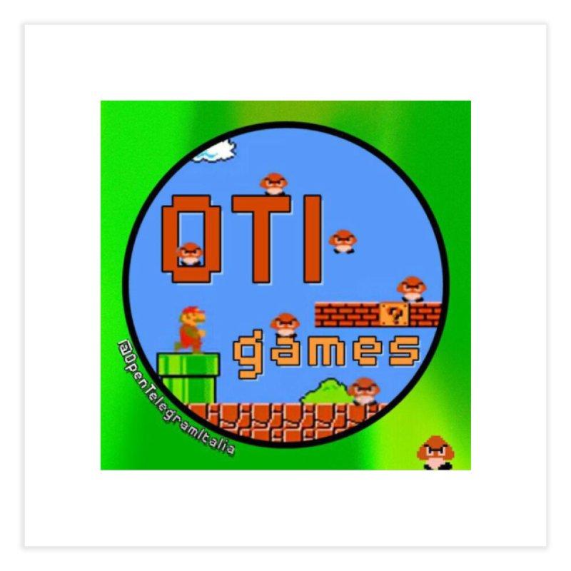 OTI Games #1 Home Fine Art Print by OTInetwork