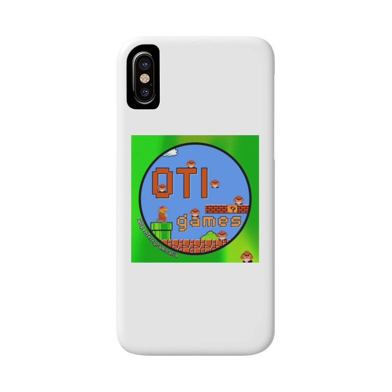 OTI Games #1 Accessories Phone Case by OTInetwork