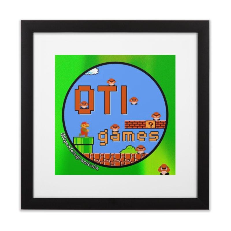 OTI Games #1 Home Framed Fine Art Print by OTInetwork