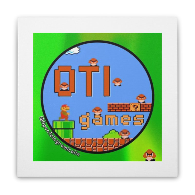 OTI Games #1 Home Stretched Canvas by OTInetwork