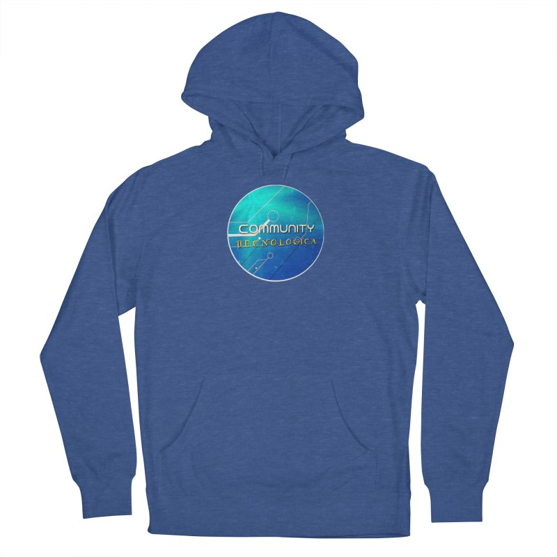 Community Tecnologica Men's French Terry Pullover Hoody by OTInetwork