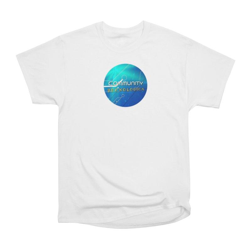Community Tecnologica Men's Heavyweight T-Shirt by OTInetwork