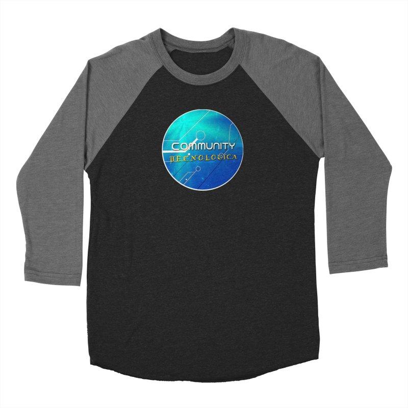 Community Tecnologica Women's Baseball Triblend Longsleeve T-Shirt by OTInetwork