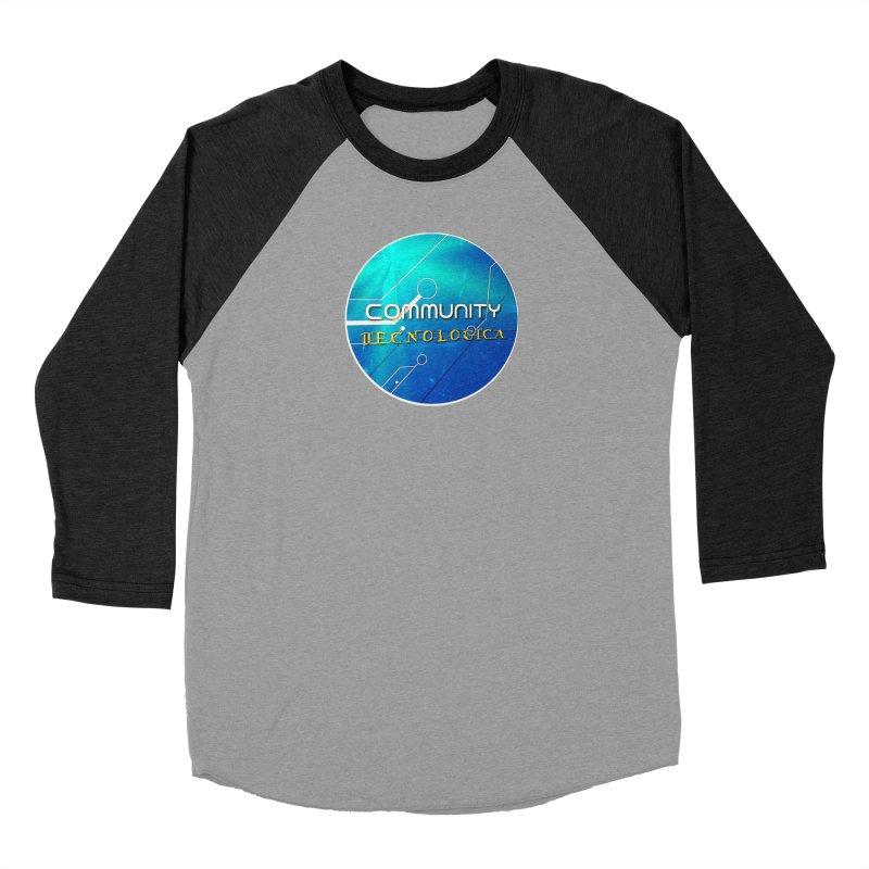 Community Tecnologica Men's Baseball Triblend Longsleeve T-Shirt by OTInetwork