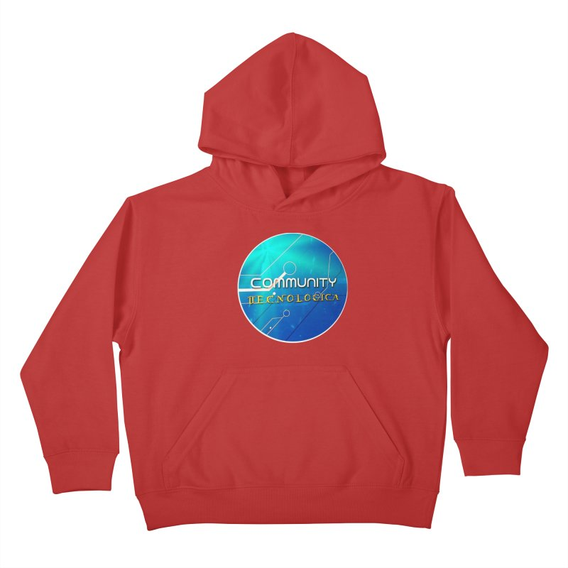 Community Tecnologica Kids Pullover Hoody by OTInetwork