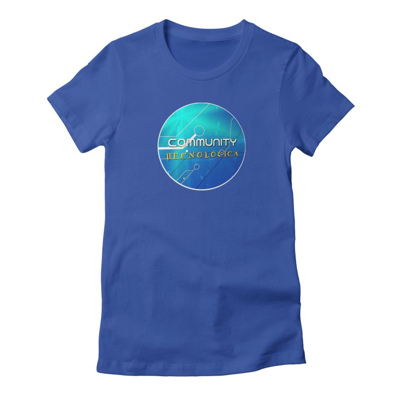 Community Tecnologica Women's Fitted T-Shirt by OTInetwork
