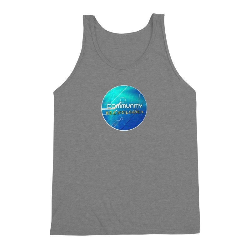 Community Tecnologica Men's Triblend Tank by OTInetwork