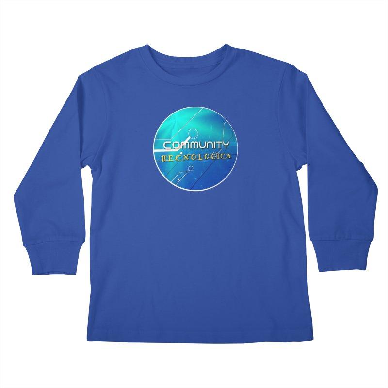Community Tecnologica Kids Longsleeve T-Shirt by OTInetwork