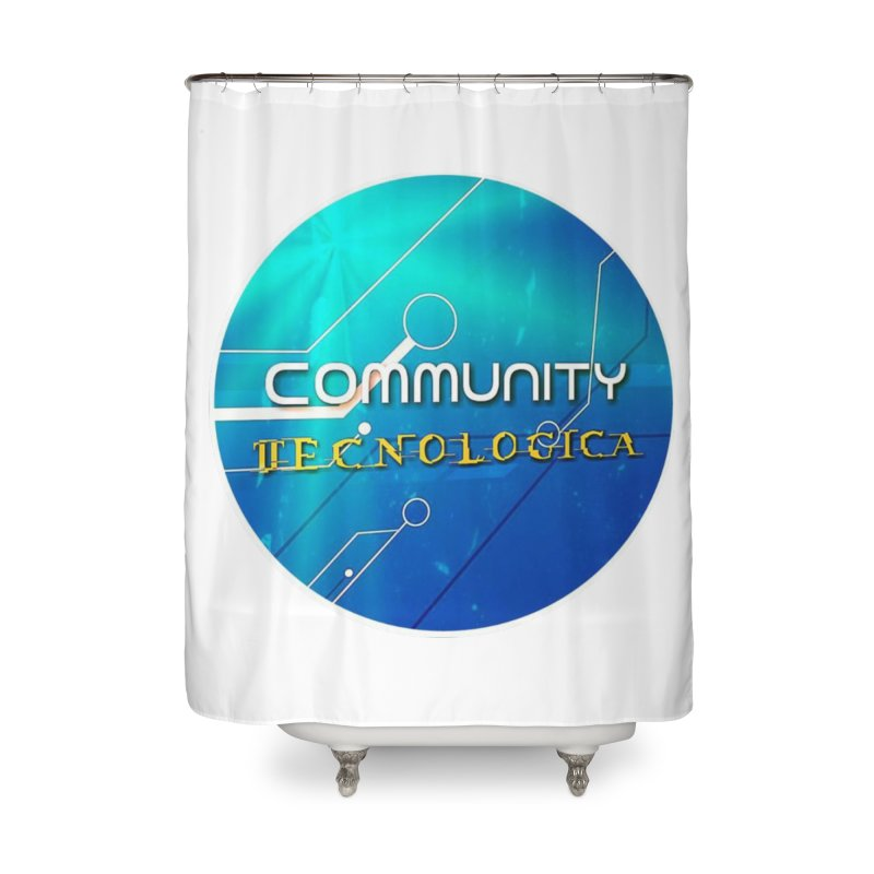 Community Tecnologica Home Shower Curtain by OTInetwork