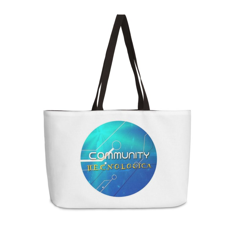 Community Tecnologica Accessories Weekender Bag Bag by OTInetwork