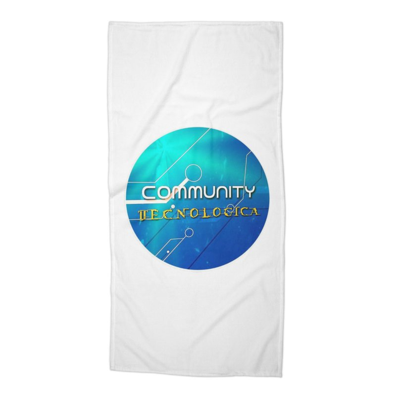 Community Tecnologica Accessories Beach Towel by OTInetwork