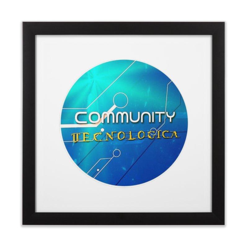 Community Tecnologica Home Framed Fine Art Print by OTInetwork
