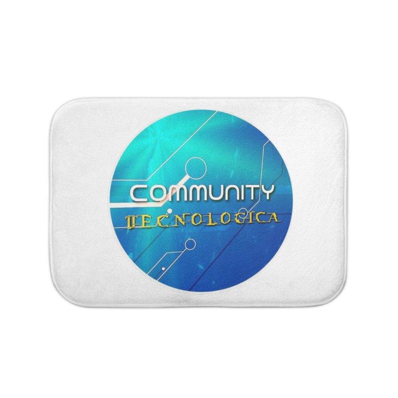 Community Tecnologica Home Bath Mat by OTInetwork