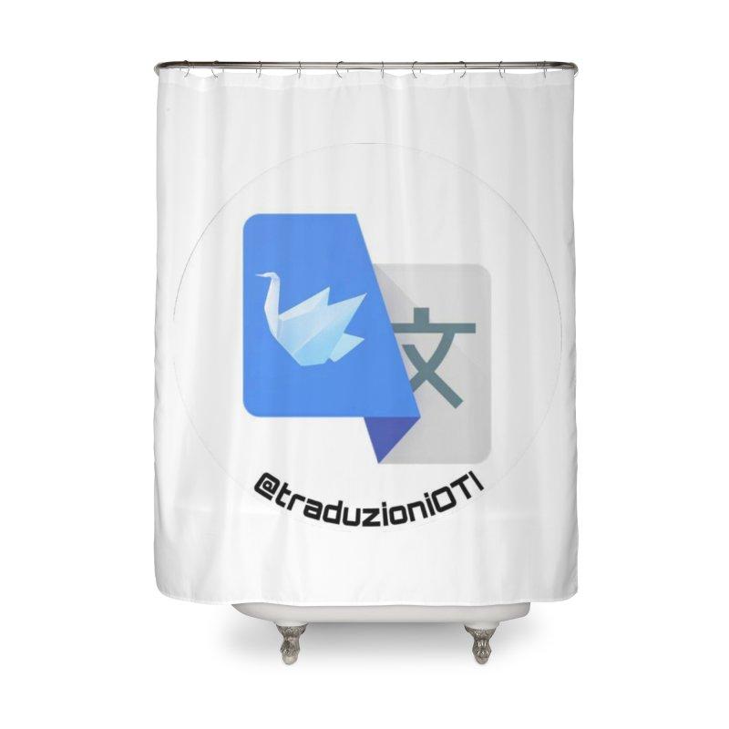 Traduzioni OTI Home Shower Curtain by OTInetwork