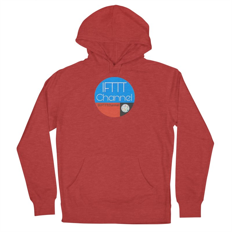 IFTTT Channel Men's French Terry Pullover Hoody by OTInetwork