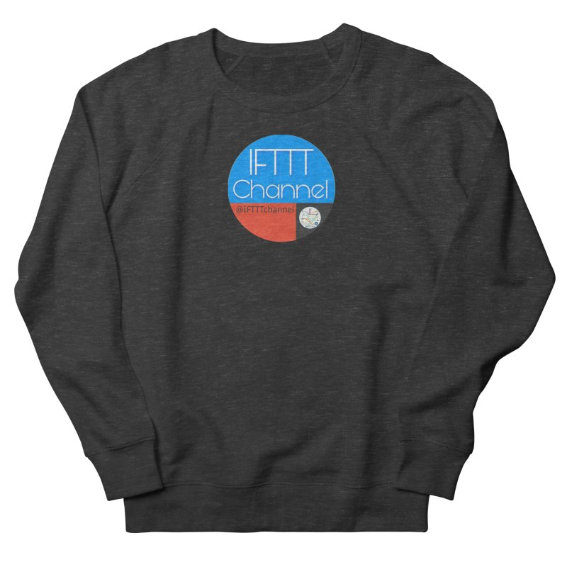 IFTTT Channel Women's French Terry Sweatshirt by OTInetwork
