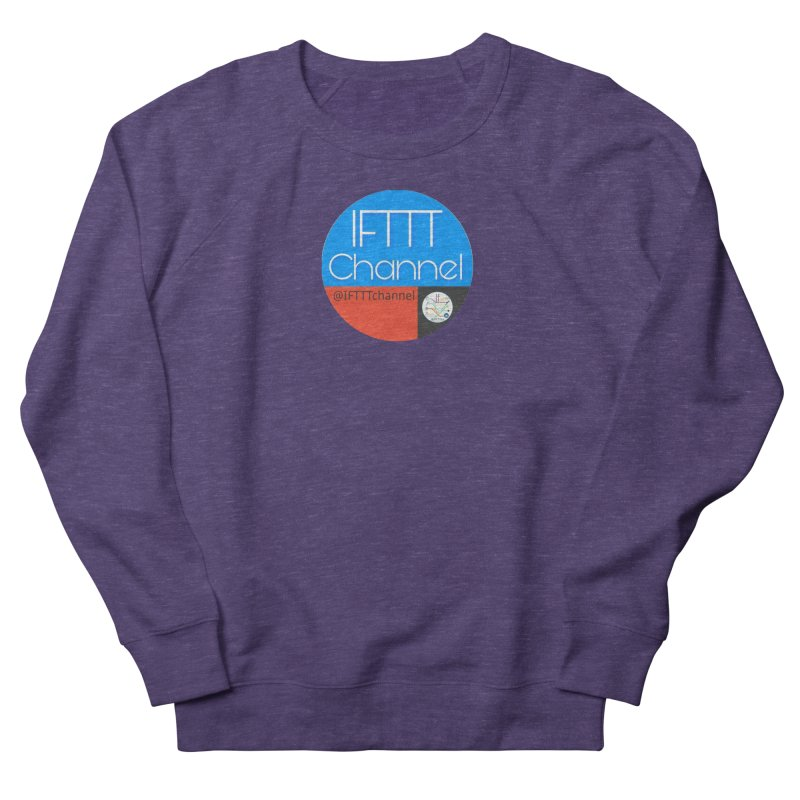 IFTTT Channel Men's French Terry Sweatshirt by OTInetwork