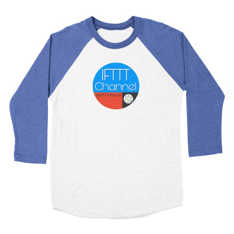 IFTTT Channel Women's Baseball Triblend Longsleeve T-Shirt by OTInetwork