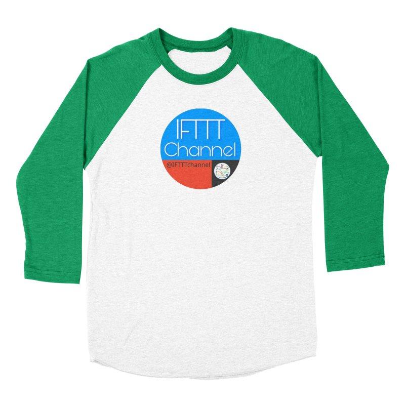 IFTTT Channel Women's Baseball Triblend Longsleeve T-Shirt by OTInetwork