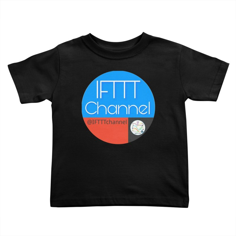 IFTTT Channel Kids Toddler T-Shirt by OTInetwork