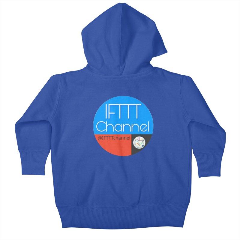 IFTTT Channel Kids Baby Zip-Up Hoody by OTInetwork