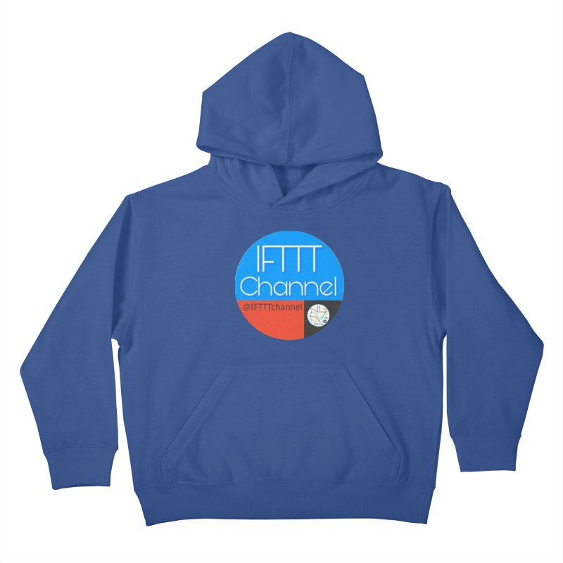 IFTTT Channel Kids Pullover Hoody by OTInetwork