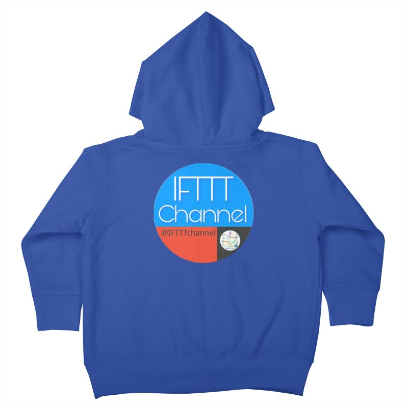 IFTTT Channel Kids Toddler Zip-Up Hoody by OTInetwork