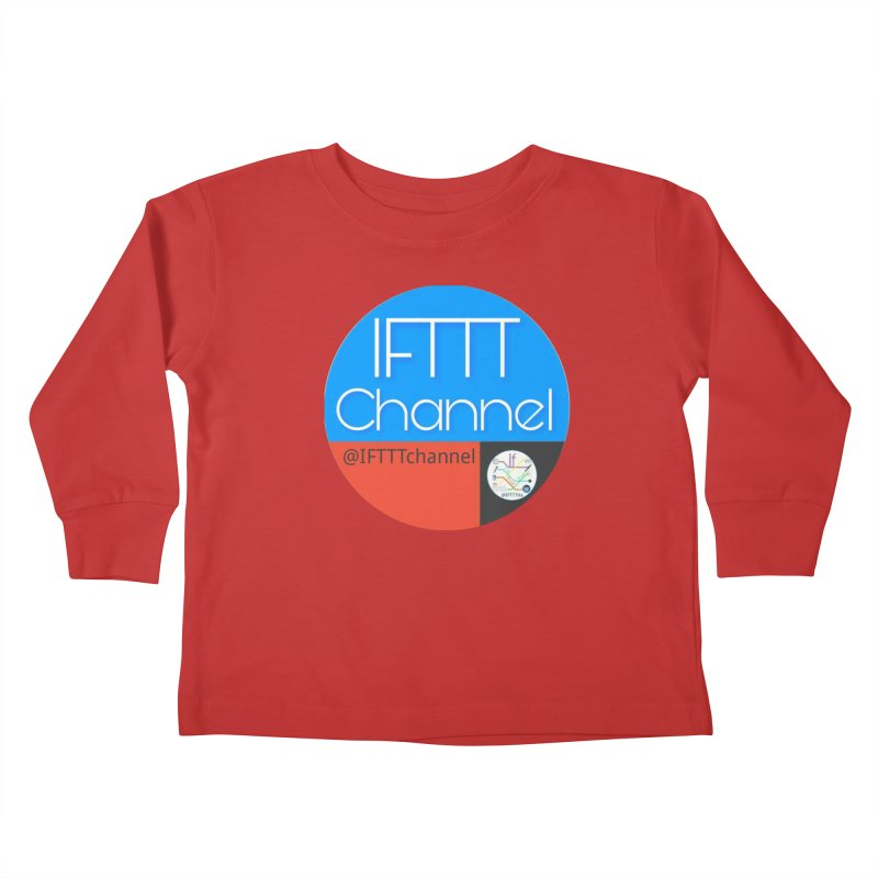 IFTTT Channel Kids Toddler Longsleeve T-Shirt by OTInetwork