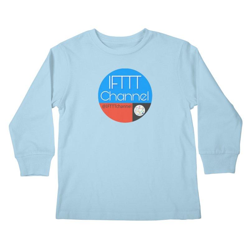 IFTTT Channel Kids Longsleeve T-Shirt by OTInetwork