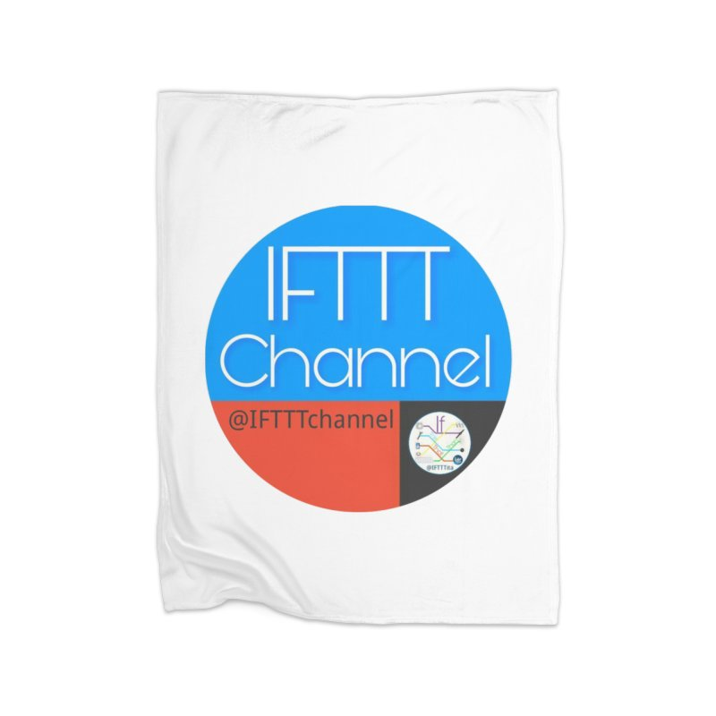 IFTTT Channel Home Fleece Blanket Blanket by OTInetwork