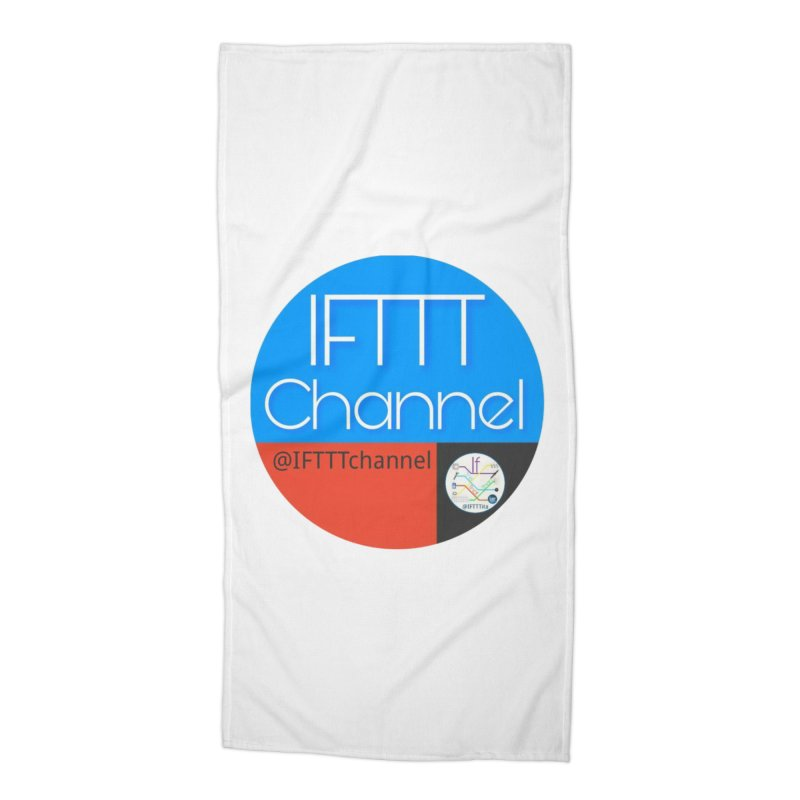 IFTTT Channel Accessories Beach Towel by OTInetwork