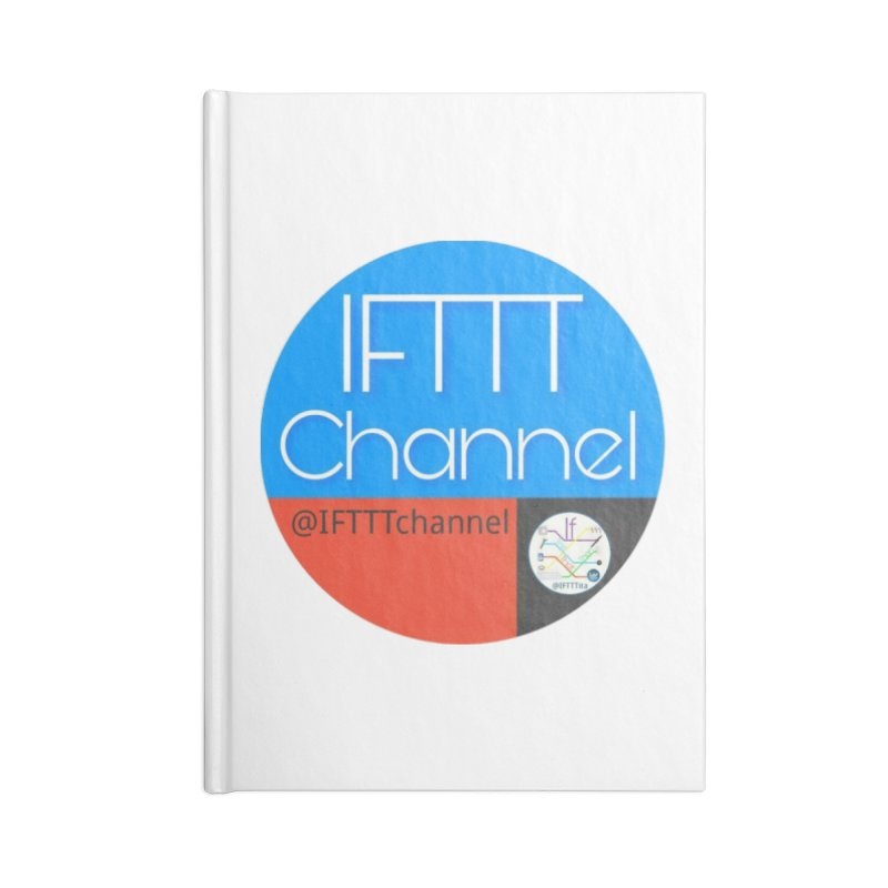 IFTTT Channel Accessories Lined Journal Notebook by OTInetwork