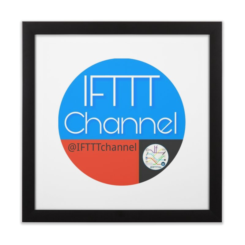 IFTTT Channel Home Framed Fine Art Print by OTInetwork