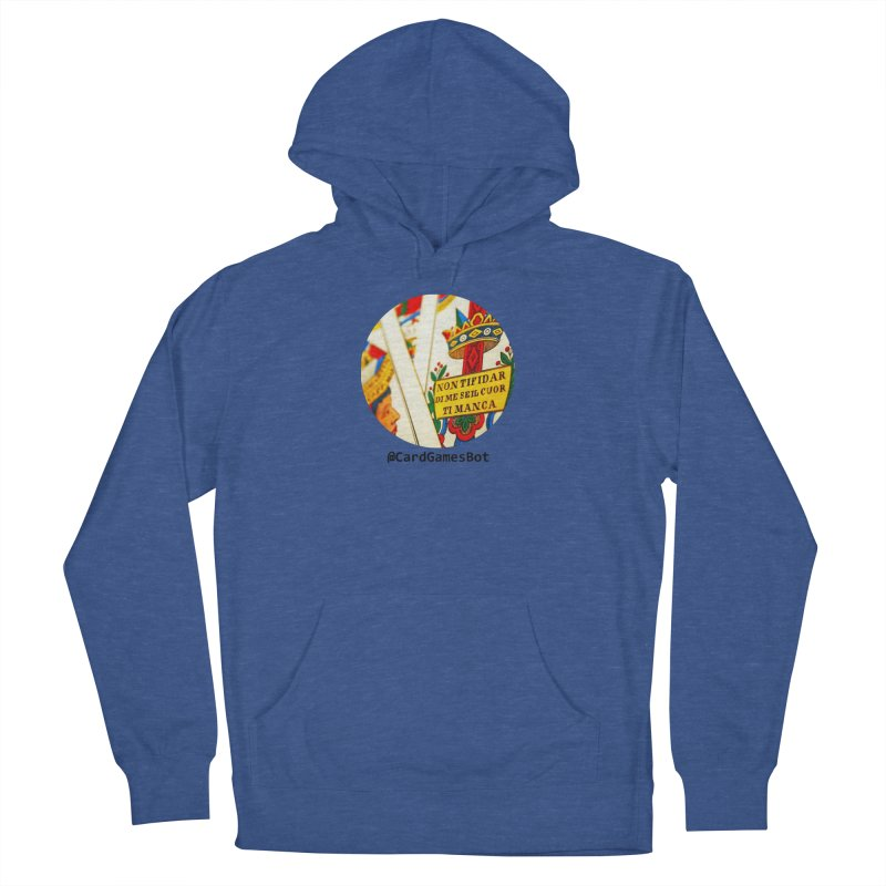 CardGamesBot Men's French Terry Pullover Hoody by OTInetwork